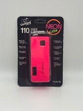 Nos Vintage Concord 110 Film Pocket Camera Neon Lites Hot Pink Sealed New 1980's