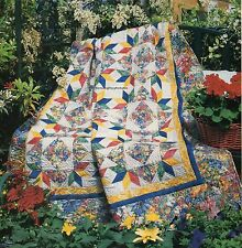 Starring Poppies Quilt Pattern Pieced VH