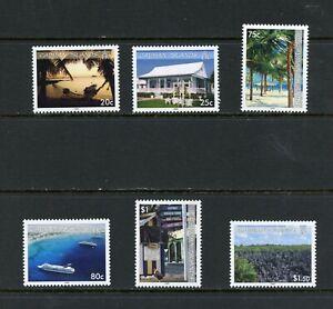 X456  Cayman Islands  2009  Island Scenes   6v.   MNH