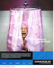 PUBLICITE ADVERTISING 065  2000  CANAL PLUS  TV  les guignols