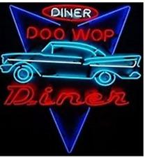 """New DINER DOO WOP DINER Beer Bar Neon Sign 24""""x20"""""""