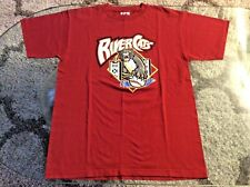 Sacramento River Cats Maroon Shirt Adult Large Majestic