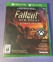 Fallout New Vegas Ultimate Edition Xbox 360 and Xbox One Brand New (Sealed)