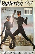 Catwoman Costume Batman Returns 1992 Pattern Butterick 6378 Girls 7-14 Uncut FF