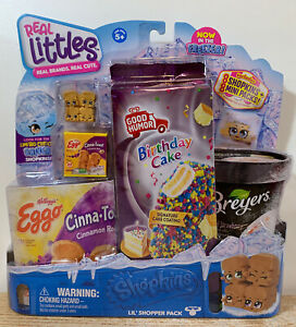 Shopkins Real Littles Mini Brand In Freezer Frozen Series Cinna-Toast