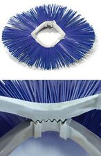 Special Brush rings for Bobcat Dustpan etc. Construction site cleaning Reversing