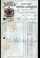 """IVRY-sur-SEINE (94) USINE de CHOCOLATS & BONBONS """"Henri JACQUIN"""" en 1910"""