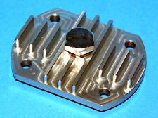 Triumph pre unit oilsump plate better aluminium version non leaking E486 70-0486
