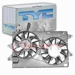 TYC Dual Radiator & Condenser Fan Assembly for 1995-2000 Mercury Mystique mr