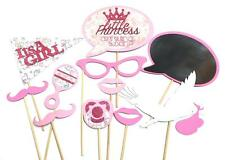 Photo Booth Props Parties Props Baby Shower Its A Girl Set  x11PC