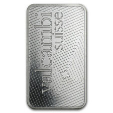 1 oz Valcambi Suisse Platinum Bar - In Assay - SKU #76687