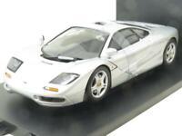 UT Models Diecast 530 133180 McLaren F1 Roadcar Silver 1 18 Scale Boxed