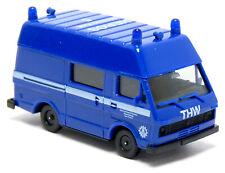 Herpa Volkswagen VW LT Bus Hochdach THW OV Mannheim Einsatzleitung ELW 1:87 H0