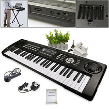 Electronic Keyboard 54 Keys Digital Electric Key Board Musical Organ LED Screen