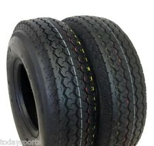 TWO 400x8,480x8, 480-8, 4.80x8 6 PLY RATED Tubeless Boat Trailer Tires  LOAD C