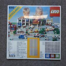 Lego System City 6312 2 Gerade Straßenplatten NEU IN FOLIE
