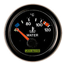 Racetech Racing Competition Electrical Water Temperature Gauge 40-120 Degrees C