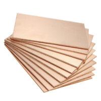 10PCS 70x100x1.5mm One-Side Copper Clad Single PCB Circuit Kit Board Bakelite