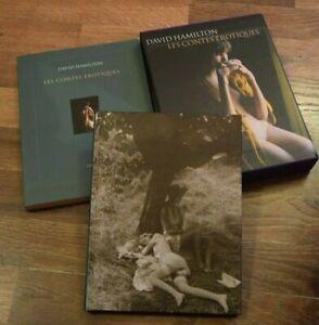 LIVRE..DAVID HAMILTON....coffret les contes erotiques.....