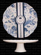 PORTMEIRION Botanic Blue qui gâteau stand