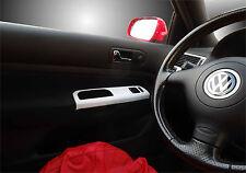 VW Golf Mk4 Jetta Brushed Aluminium Grab handle trim 2 Door TDI GTI R32 07