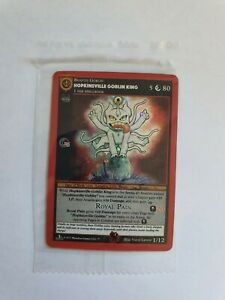 Metazoo Cryptid Nation 1st Edition Hopkinsville Goblin King SEALED IN HAND UK
