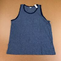 Old Navy Men's Size Large Blue Soft-Washed Chest-Pocket Tank Top NWT