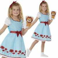 Country Girl Costume Girls Fairytale Storybook World Book Day Fancy Dress Outfit