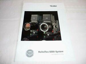 ROLLEIFLEX 6000-SYSTEM - DAS PROGRAMM FÜR PROFIS