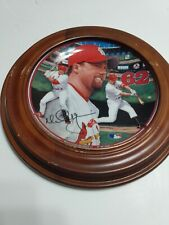 Record Breaker 9898 Mark McGwire Home Run Hero Plate
