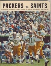 Green Bay Packers vs Saints 11/17/1968 Official Program 128366
