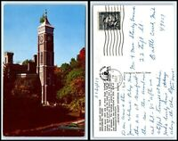 INDIANA Postcard - Greensburg, Tree on Court House Tower M42