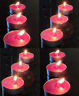 Tealights 24 pack Scented Tea Light Holders Candles Party Home Burn Candle Decor