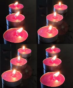 Tealights 24 pack Scented Tea Light Holders Candles Party Home Xmas Candle Decor