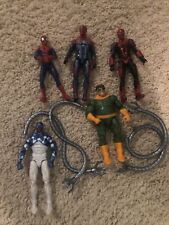 marvel legends lot Of Spider-Man Figures, Dr. Octopus, Miles Morales