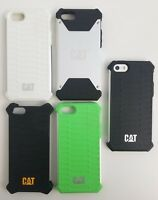 CAT Active Rugged Phone Case for Apple iPhone 5,5s,SE, Black Silver, Blue, Pink