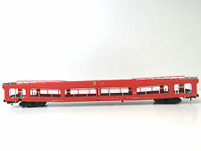 Autotransporter DDm 916 der DB AG,rot,Epoche V,HERIS HO,11080,NEUWARE,LuP 303mm