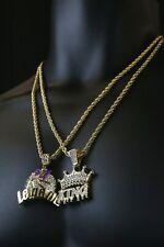 "14k Gold PT HipHop #24 PP Legend Drip King Basketball Pendant 24"" Rope Chain Set"