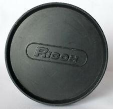 Ricoh 60mm push on front lens cap.
