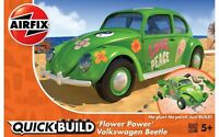 "AIRFIX® QUICK-BUILD VOLKSWAGEN VW BEETLE ""FLOWER POWER"" MODEL KIT SET J6031"