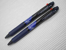 2pcs T.Navy Uni-ball Jetstream SXE3-400 0.7mm 3 in 1 Multi Ball Point Pen(Japan