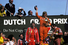 James Hunt Hesketh 308B Winner Dutch Grand Prix 1975 Photograph 4