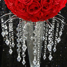 Only for 3 Tier 30pcs Clear Beaded Wedding Supplies Acrylic Crystal Garland Bead