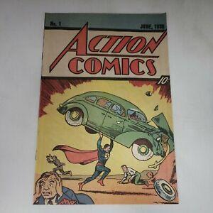 Action Comics #1 Reprint (Nestle Quik Promo) 1983 e5a146