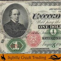 1862 $1 LEGAL TENDER *GREEN BACK* Fr 16  33715-P