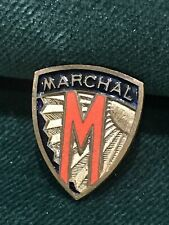 More details for rare vintage lucas marchal fog light  enamel advertising shield badge