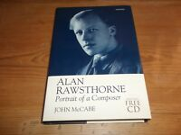 Book. Alan Rawsthorne. Portrait of a Composer. Includes Free Music CD. 1st HB.