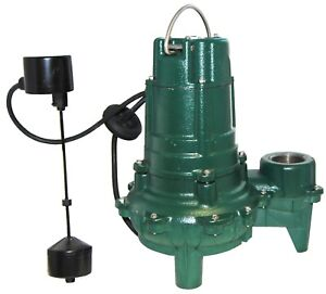 Zoeller 014955 WM-266 1/2 hp  Pump for Qwik Jon 100,101,102 WM266 14955