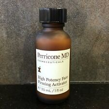 Perricone MD High Potency Face Firming Activator 1 oz 30 ml NWOB NO DROPPER