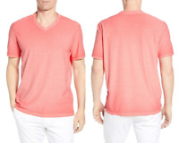 Tommy Bahama Cirrus Coast V-Neck T-Shirt Mandalay Red M